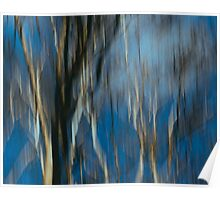 Abstract ~ Trees Poster