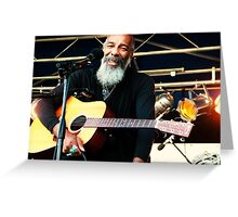 Richie Havens smile Greeting Card