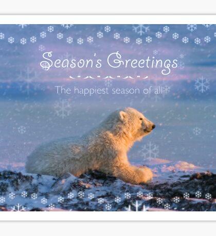 The Happiest Season of All Sticker