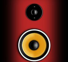Speaker Phone Red by Ra12