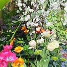 Spring Floral Display by Kathleen Struckle