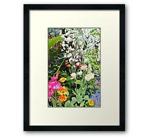 Spring Floral Display Framed Print