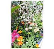 Spring Floral Display Poster