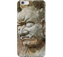 Chinese Bodhisattva in Wrathful Form iPhone Case/Skin