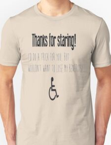 Just saying Unisex T-Shirt