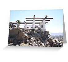 Graffiti Hill Home Greeting Card