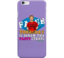 Thursday People iPhone Case/Skin