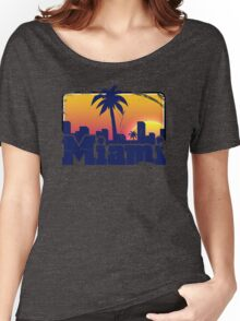 Welcome to Miami Women's Relaxed Fit T-Shirt
