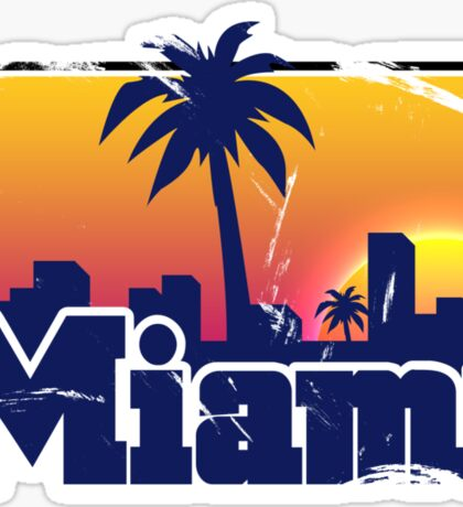 Welcome to Miami Sticker