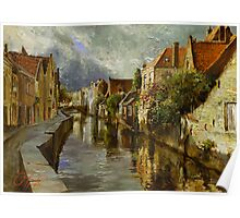 On the Canals of Brugge Poster