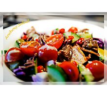 Anchovy Salad Photographic Print