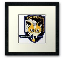 MGS / Star Fox - Star Fox Hound Framed Print