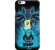Lucario and Riolu Case iPhone Case/Skin