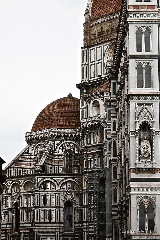The Basilica di Santa Maria del Fiore (North Side) by Andrew Connor Smith
