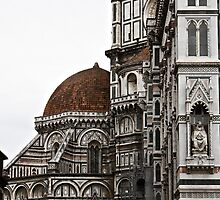 The Basilica di Santa Maria del Fiore (North Side) by Andrew Connor Smith