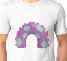 Sea Monster in Purple (body) Unisex T-Shirt