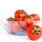 Bowl of Tomatoes by Anaa