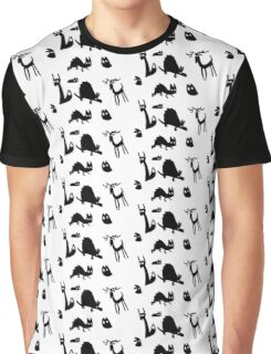 Shadowy Forest Friends Graphic T-Shirt