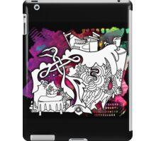 """Celtic Bird and Still Life"" Great Graffiti Graphics iPad Case/Skin"