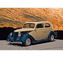 1936 Ford Tudor Sedan II Photographic Print