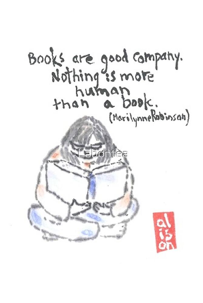 Books are Good Company. Marilynne Robinson by Labontea