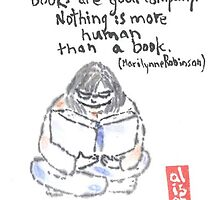 Books are Good Company. Marilynne Robinson by Labontea