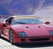 Ferrari F40 by DaveKoontz