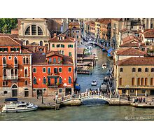 Venice..the end of the day` [FEATURED] Photographic Print