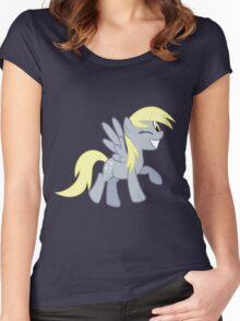 Derpy Wink Women's Fitted Scoop T-Shirt