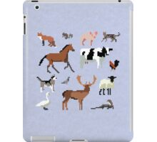 Animals of the UK (Outlined) iPad Case/Skin