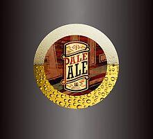 VINTAGE BEER LABEL by BIG-DAVE