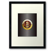 VINTAGE BEER LABEL Framed Print