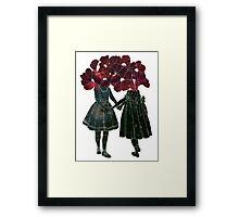 Flower Girls Framed Print
