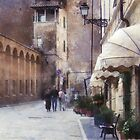 Beautiful tuscan architecture by Olja Merker