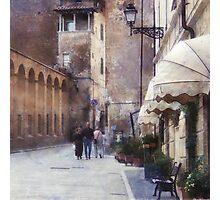 Beautiful tuscan architecture Photographic Print