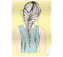 Hair Braid Poster