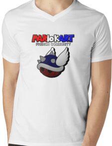 MARIO KART FRENCH COMMUNITY Mens V-Neck T-Shirt