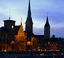 An evening in Zurich   by Shiva77