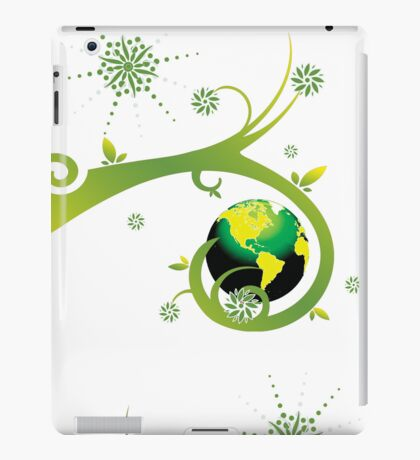 Earth Eco Friendly Design iPad Case/Skin