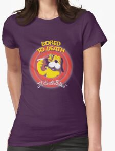 Bored to Death Womens Fitted T-Shirt