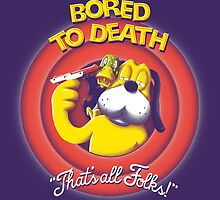 Bored to Death by mdmShirts