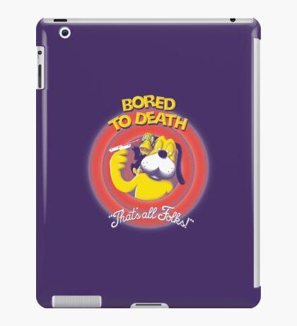 Bored to Death iPad Case/Skin