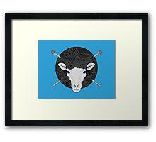 Woolly Sheep Framed Print