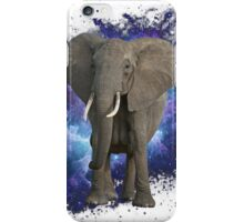 Space Elephant iPhone Case/Skin