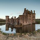 Caerlaverock Castle #1 by Brian Kerr