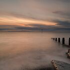 Sunset Over The Solway by Brian Kerr