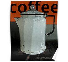 Vintage Coffee Pot Poster