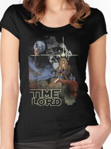 TIME LORD Episode IV Women's Fitted Scoop T-Shirt