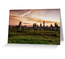 The Great Stones of Callanish Greeting Card