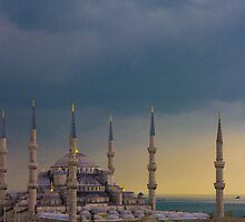 iSTANBUL  Blue Mosque by steffen